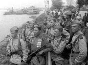 Soviet troops in Manchuria