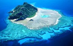 Monuriki aerial view