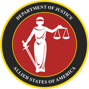 Allied States Department of Justice