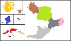 CSFR administrative divisions no labels