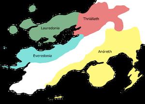 Elven Kingdoms first era