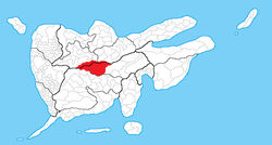 Municipalities in which the Valley of Eternal Rain is located