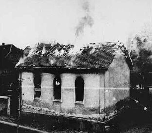 A Dutch Farmhouse being Burnt