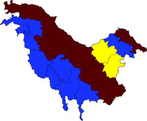 Pohlanian 2014 Election Map