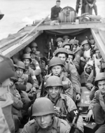 American troops ww2