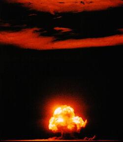 Trinity bomb