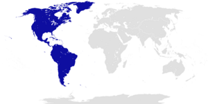 Location of the Democratic Federation