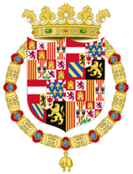 Arms of Franz I of La Plata as Duke
