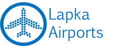 Lapka Airports logo full