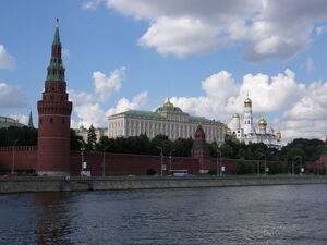 Moscow Kremlin from the river