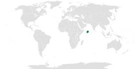 Location of Nge'ardhi