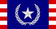 Flag of the president of the republic of liberty