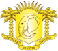Coat of Arms of Cote d'Ivoire