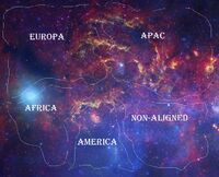 Known Cosmos map