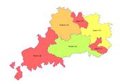 Bijan 1961 Electoral Districts
