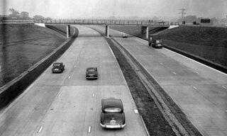 M1 Ring Road Opening 1958