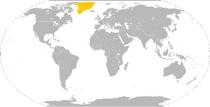 Map of Nordland