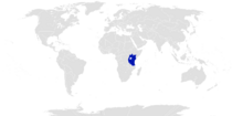 Location of East Africa