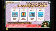 Win prizes everyday