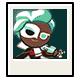 Mint Choco Cookie Halloween Photo