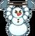 Muscle Snowman
