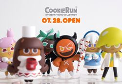 Mystery Figures to be released 28 July
