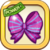Purple Ribbon Bow