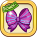 Purple Ribbon Bow