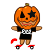 Boarder Cookie Halloween