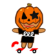 Boarder Cookie Halloween
