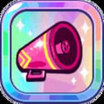 Cheerleader Cookie's Pink Megaphone