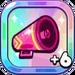 Cheerleader Cookie's Pink Megaphone+6