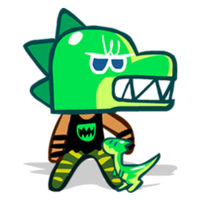 Dino-Sour Cookie Halloween