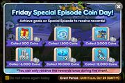 Friday Special Episode Coin Day