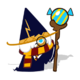Wizard Cookie Halloween