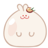 Moon Rabbit Cookie Rabbit