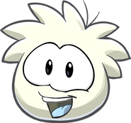 514px-Puffle 2014 Transformation Player Card White