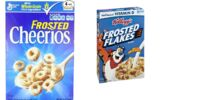 Frosted Cheerios and Frosted Flakes