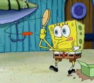Spongepaddleball