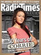 550w soaps corrie radio times michelle keegan