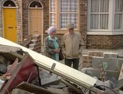 Community centre flat demolished