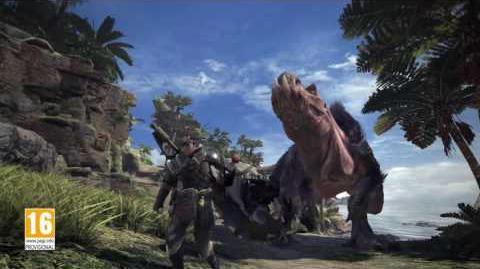 Monster Hunter World - Tráiler anuncio E3.