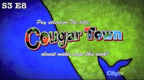 All the Cougar Town title card jokes