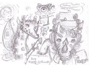 Halloween Doodle 001