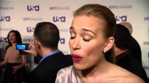Piper Perabo talks Covert Affairs at USA Upfronts