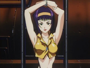 Faye tied up