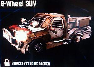 6-Wheeled SUV