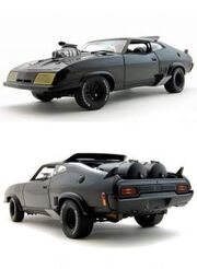 Model of the Ford Falcon from Mad Max.