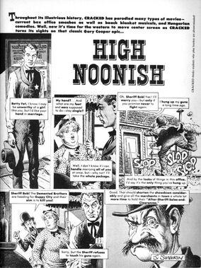 High Noonish