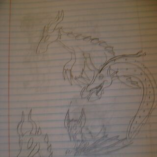 Nebski's lusus along with his friends' lusi (WARNING: Bad photo quality)